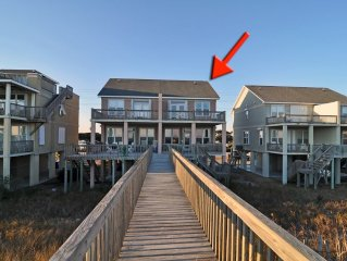 Oceanfront Duplex-3BR + Queen Alcove+2.5BA