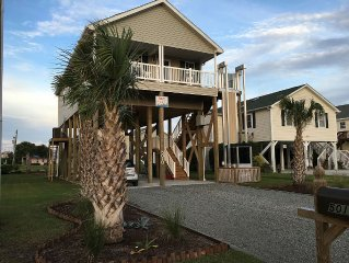 'Above It All' was damaged by Hurricane Florence. We will return for Summer 2019