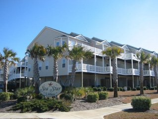 Fall weekends now open!  Oceanfront complex, unit steps from the beach!