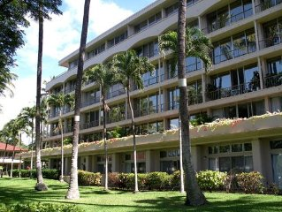 SPACIOUS Condo with 2 master suites on Maui's best beach (2BR, 2BA,