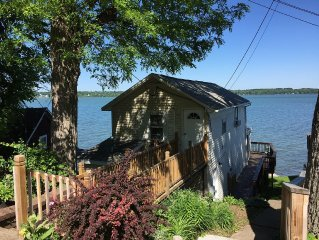 A Cayuga Lake getaway, perfect for a romantic couple, or great for the family