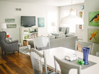Great Downtown Location and Near University