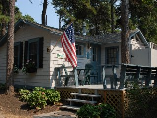 Quaint 2 Bedroom Cottage On White Pond In Chatham, MA