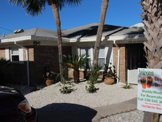 Two houses from beach. House w/pool,  / Sleeps 14 - ******* 3000