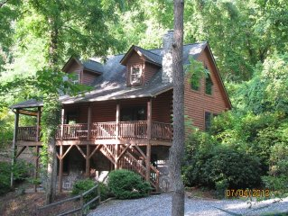 Beautiful Acorn Cabin, Dog-friendly, 10 min from Asheville