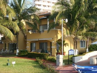 Spectacular Oceanfront Ixtapa Villa...Just Steps to Clean, Beautiful Beach!