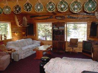 Moose River Resort & Hot Tub - 900 Sq.Ft. Ranch Chalet, Gazebo, Dock