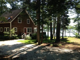 BOOTHBAY Family Friendly Year Round Waterfront Home