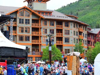 Closest condo to the Lifts in the Center Village! ***** Best Location in Copper!