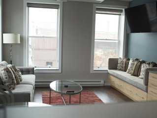 Completely remodeled studio loft located in the e