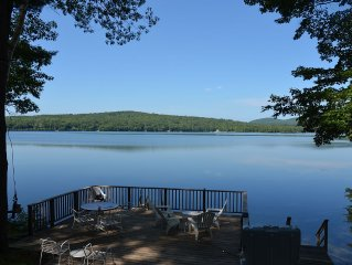Lake Waukewan, Private Waterfront Cove, Incredible Sunsets, Meredith NH