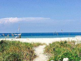 Tropical Paradise On The Beach