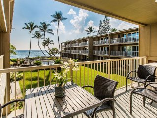 Newly Remodeled - Air Conditioned - Steps from  beach, walking path, shopping