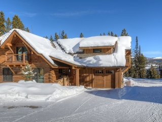***Luxury 4 Bdrm Ski-in/ski-out home avail April 1-8th- Book Now***