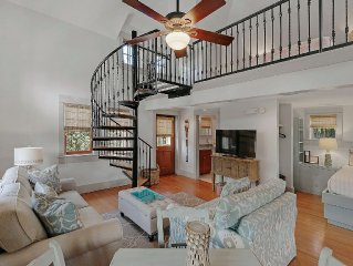 Fantastic Location!!!- South Side-Steps to the Beach-Outdoor Courtyard-2  bikes