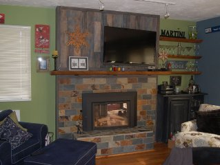 Boyne Mountain at it's best, beautiful ski themed 3 bedroom Mountain Villa Condo