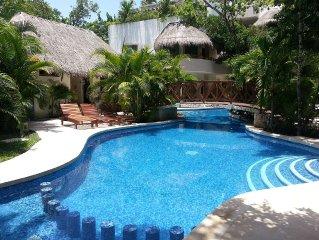 Beautiful Poolside Retreat in Tulum's Aldea Zama