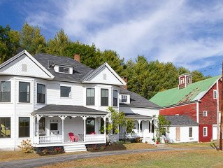 Friendly Family Farmhouse 3.5 Miles From Sunday River Access Road