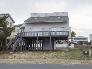 Family Friendly Beach home, 5 minute walk from beach