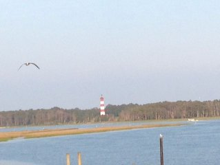 Million $ Waterfront Views Boat Slip, 2 Bdrm.,1 Ba., some Sept. availability!
