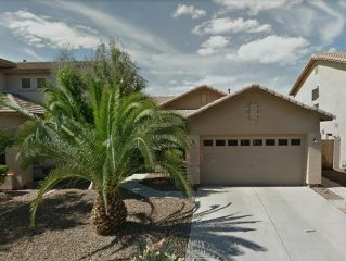 Special Furnished 3 Bedroom Home In Goodyear with HEATED Private Pool!