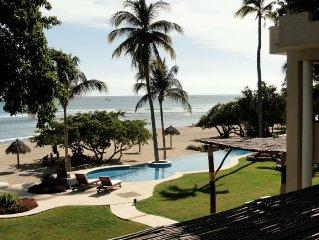 Beautiful Oceanfront Condo / Hacienda De Mita At It's Best!