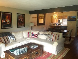 Beautifully Appointed Condo on Golf course with Private Fishing, Near Skiing!
