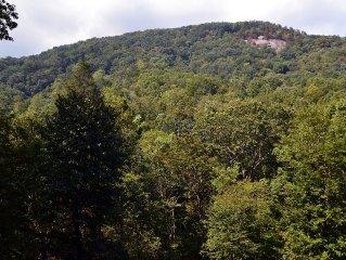 New Listing! Rumbling Bald Views and Rushing Creek.  Rumbling Bald Resort!