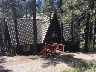 Welcome To Holladay's Hideaway. Nestled In The Tall Pines Above Alto Lake.