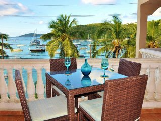 Grande Bay 'Mojo Blue' Oceanfront!  Rent 1BR Luxury Condo.  Walk to town.