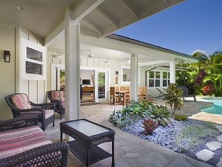 Steps to Kailua Beach - Heated Pool - Air Conditioned - Ask Owner/Rates
