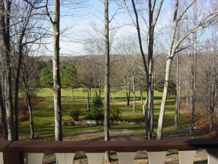 Golf Cabin 13 - On Course - WIFI - Directv - Decks - Fire Pit - Air - 5 acres.