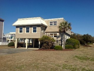 Beautiful Marsh And Intracoastal Waterway View. 4br/2.5 Bath