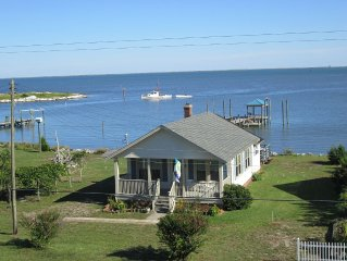 Pet Friendly Waterfront Rental Home On Core Sound