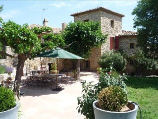 Beautiful Stone Olive Oil Mill Near Aix En Provence