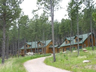 Laramie Bluffs Mountain Getaway. Stay in beautiful Black Hills cabin setting.