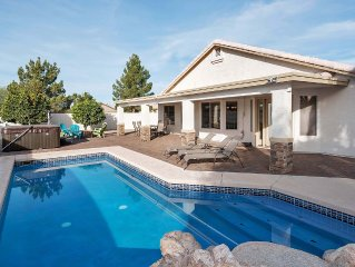 Mesa Arizona 4-bedroom Home With Heated Pool And Spa