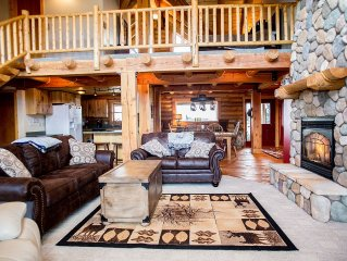 Log Home On Golf Course In Red Lodge Minutes From Town
