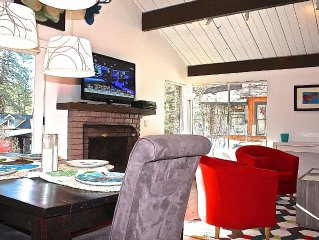 Bright & Clean Cottage, on a Park, Playgrnd, Tennis, Big Deck, Walk to Village