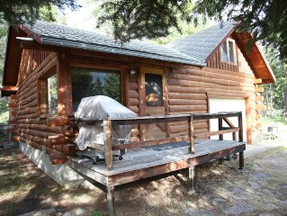 Cabin With Sleeping Loft 20 Miles From NE Entrance Of Yellowstone