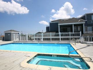 Spacious Bayfront Condo w/ Pool In The Heart Of Beach Haven