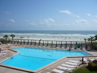 Spectacular, Peaceful Oceanfront Condo on no drive beach!
