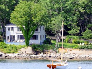 Oceanfront Cottage with Views to Monhegan Island