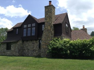 Luxury Cottage - Riverfront - Fly Fishing - Trout Pond