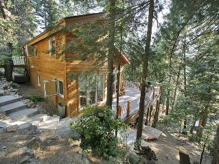 Stay Inside Yosemite National Park at the Hummingbird Raven House!