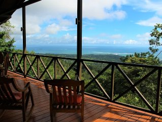 Brand New Pool home with incredible view of the Whales Tail, Uvita Costa Rica