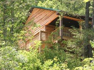 Appalachian Mountain Vacation cabin in Bristol, Virginia - Tennessee