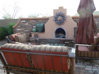 Spacious home with backyard retreat