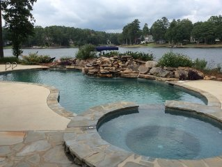 8 Bedroom Luxurious Lake Front Home with Swimming Pool, Jacuzzi and Private Dock