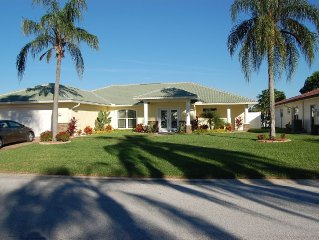 Waterfront home, In ground heated pool with Outdoor kitchen, Private Community